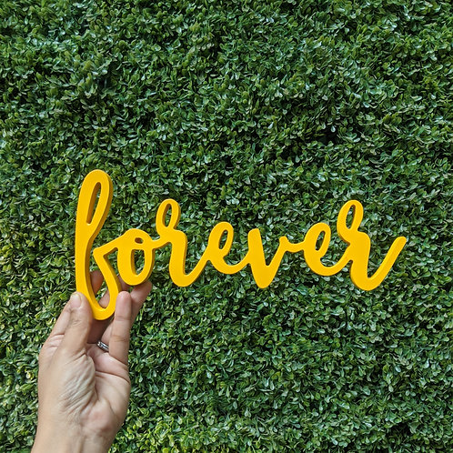 Forever- 3D word