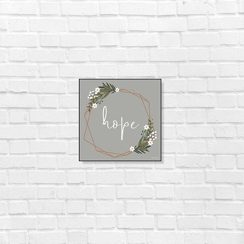 Hope - art frame