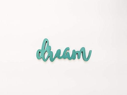 Dream - 3D word