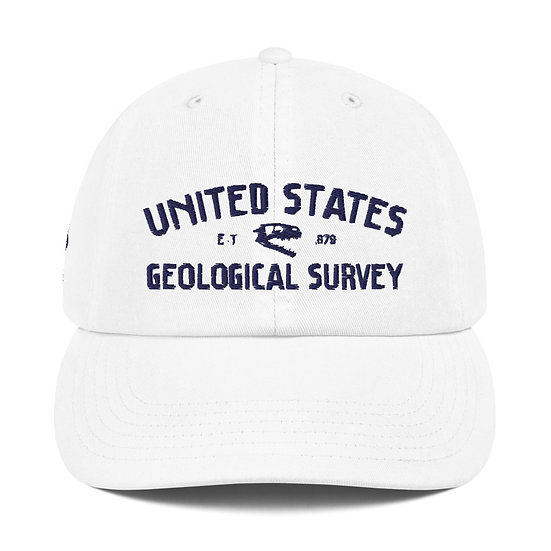United States Geological Survey Coelophysis Champion Dad Cap (Navy)