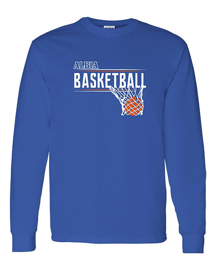 Lady Dees Basketball -  Albia Long Sleeve