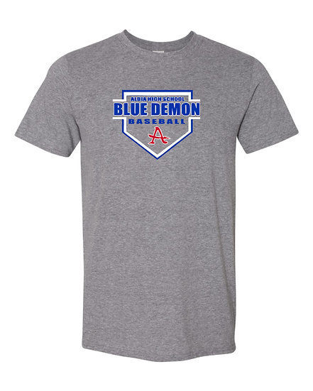 Blue Demon Home Plate - Tee