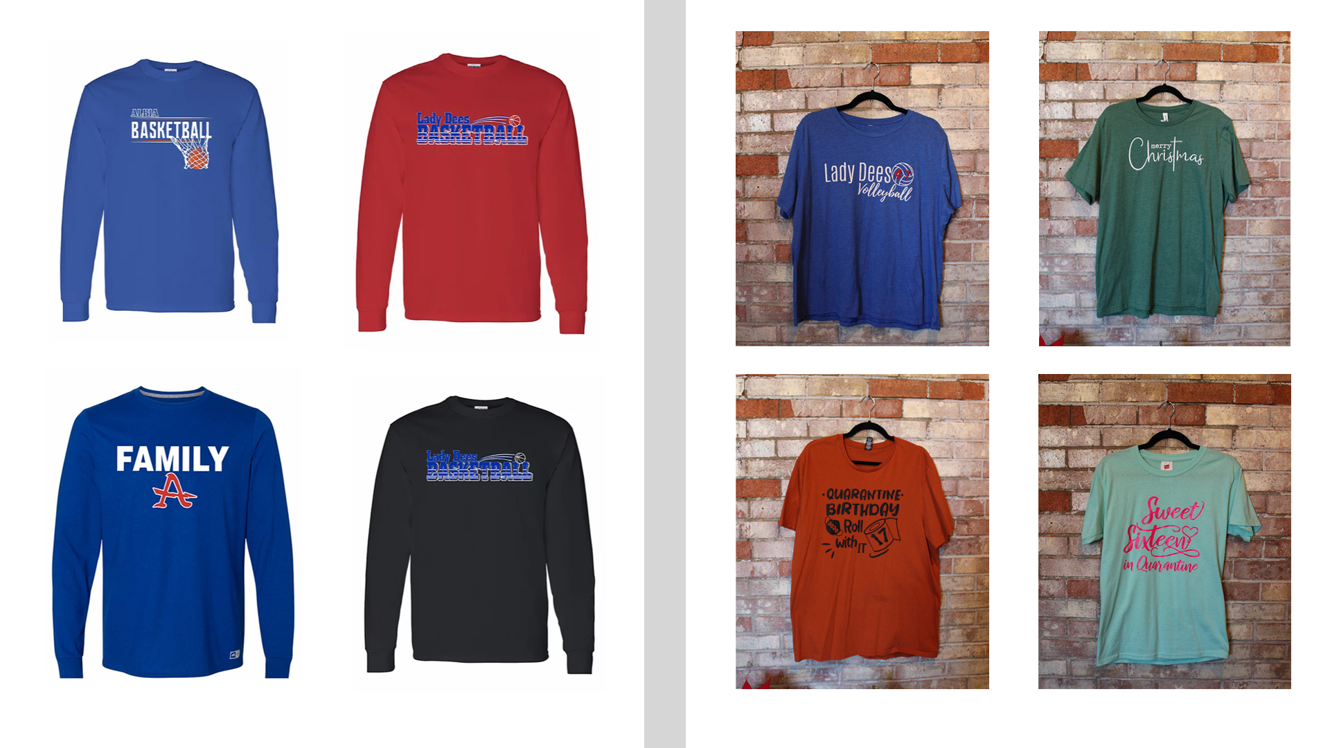 Albia Basketball/Custom Apparel