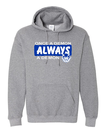 Albia Once A Demon Hoodie