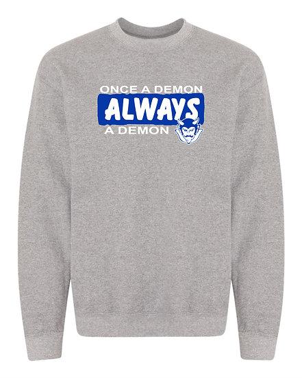 Albia Once A Demon Sweatshirt