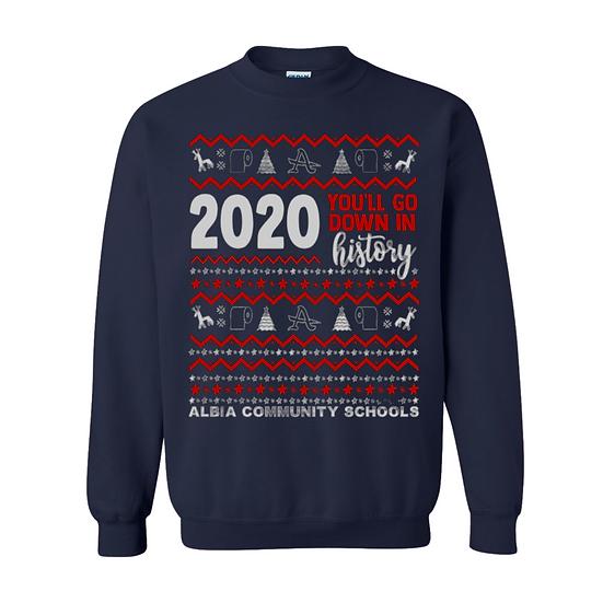 Albia Ugly Christmas Sweatshirt