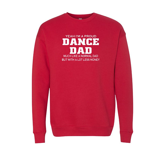 High School Dance Parent - Crew Sweatshirt