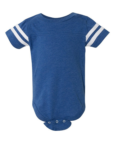 Personalized Infant Football Fine Jersey Bodysuit