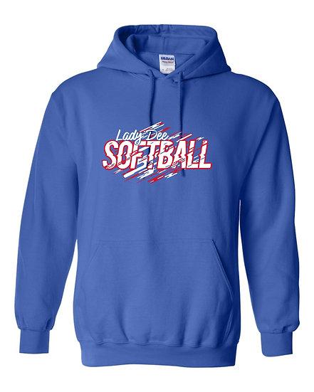 Lady Dees Softball Hoodie