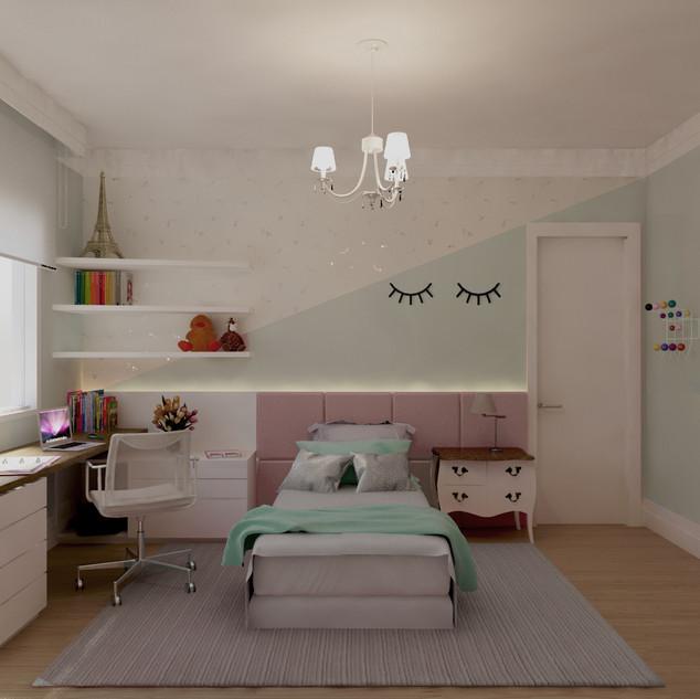 Dormitório da menina