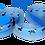 Thumbnail: Agility-Leine mit Borte und Leder, individuell nach Maß