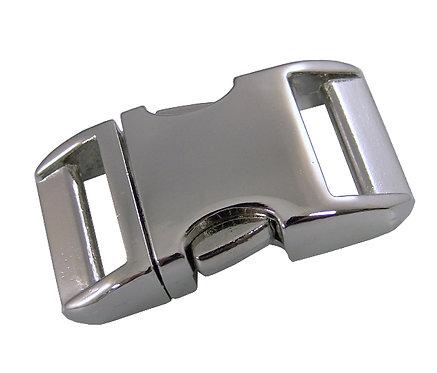 Alu-Max Klickverschluss, silber-glänzend, 3 Breiten