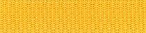 1m Gurtband sonnengelb, 4 Breiten