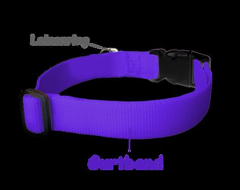 Halsband individuell, nur Gurtband