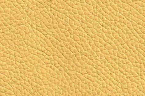 Leder maisgelb, verschiedene Größen (144€/qm)
