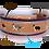 Thumbnail: Halsband mit Borte und Leder, individuell nach Maß