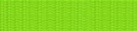 1m Gurtband hellgrün, 4 Breiten