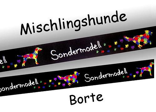 "(3,35€/m) 1m Webband ""Sondermodell"", 20mm"