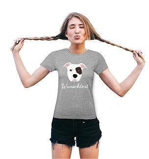 Shirt Hundemotiv AmStaff