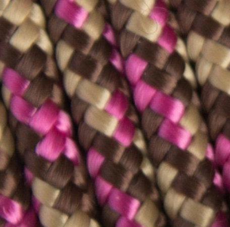 1m PPM-Seil, Pink Chocolate, viele Größen