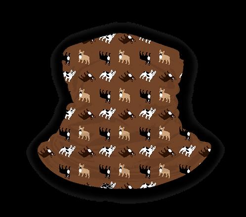 """Schlauchschal """"Französische Bulldogge"""" mit Hundemotiv, viele Farben"""