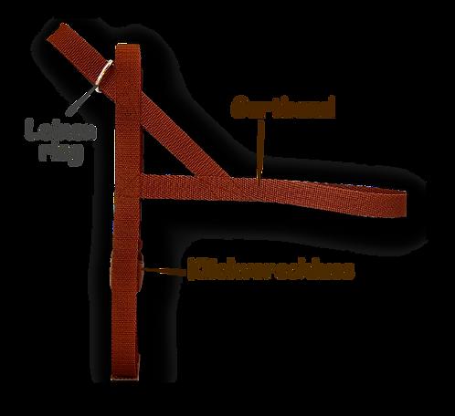 Norwegergeschirr nach Maß, nur Gurtband