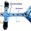 Thumbnail: Führgeschirr nach Maß, mit Borte, größenverstellbar