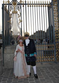 Georgian Man & Woman in Paris