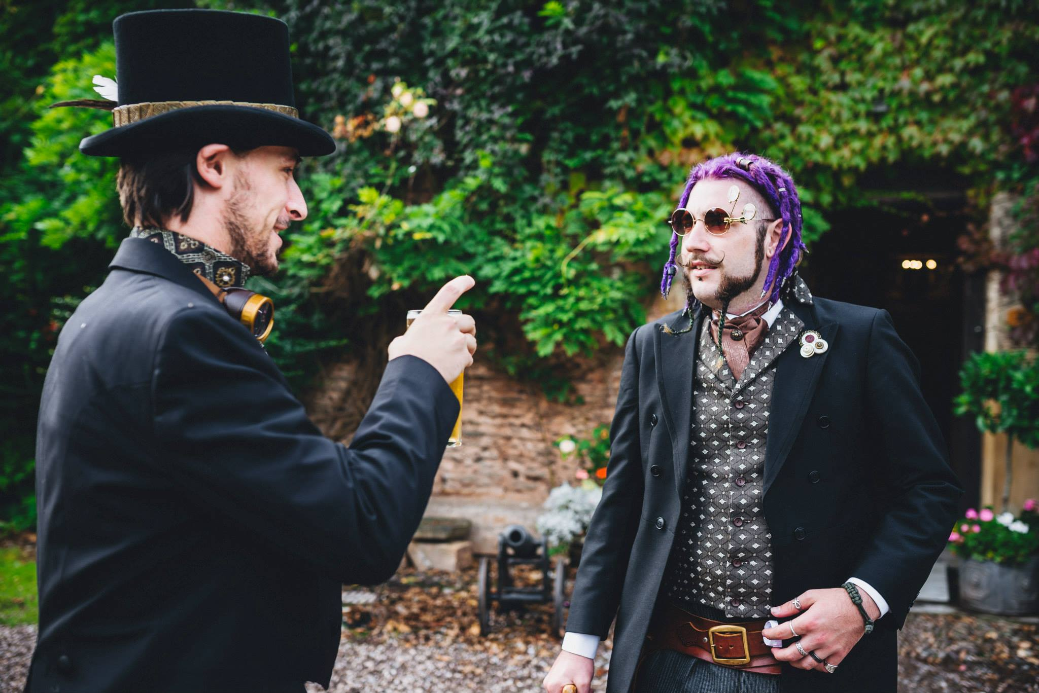 Paul and Danielle's Steampunk Wedding (2).jpg