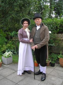 Regency couple in garden.jpg