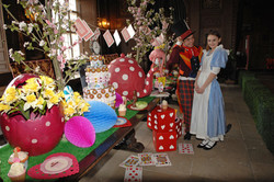 Mad Hatters Tea Party at Longleat Apr 2012 1.jpg