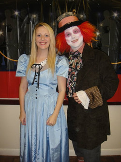 Mad Hatter and Alice
