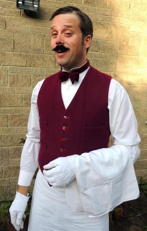 Waiter Andy