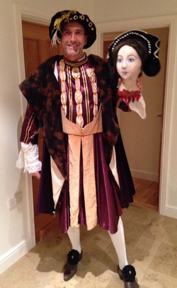 Henry VIII and Anne's head