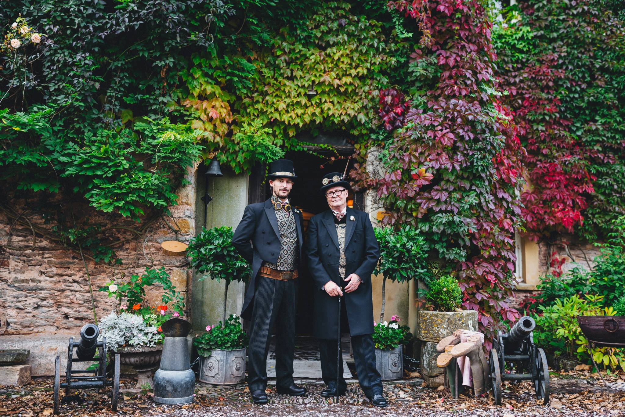 Paul and Danielle's Steampunk Wedding (17).jpg