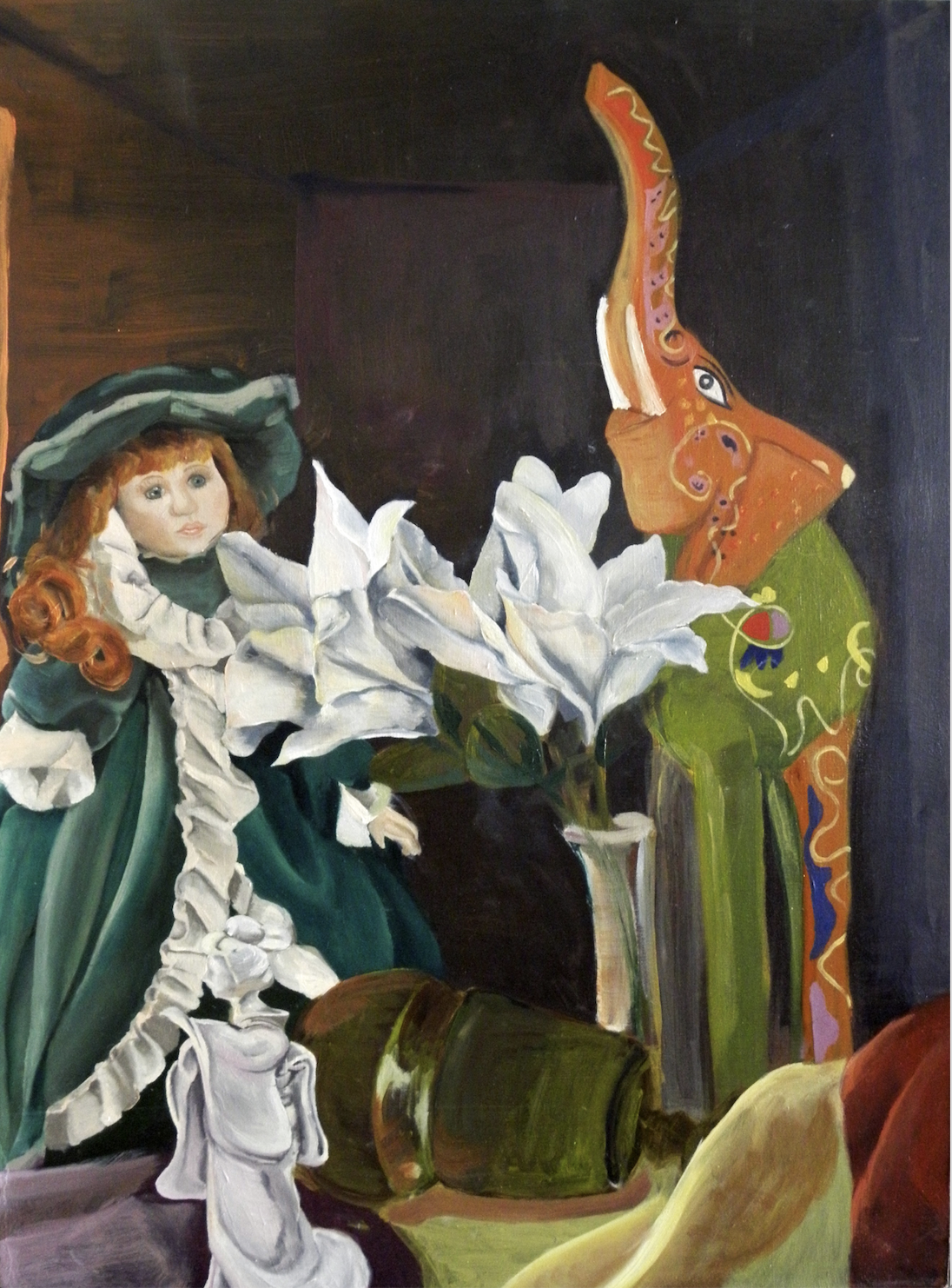 Still Life with Doll