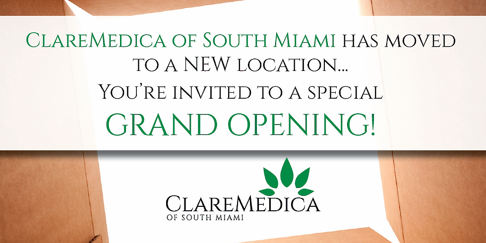 November 14 •South Miami Grand Opening - NEW location!