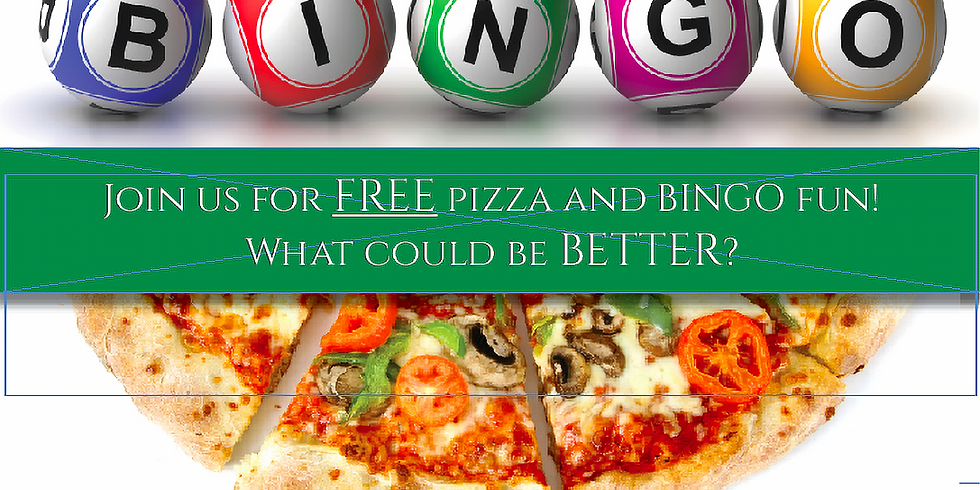 November 19 - Bingo Pizza Party!