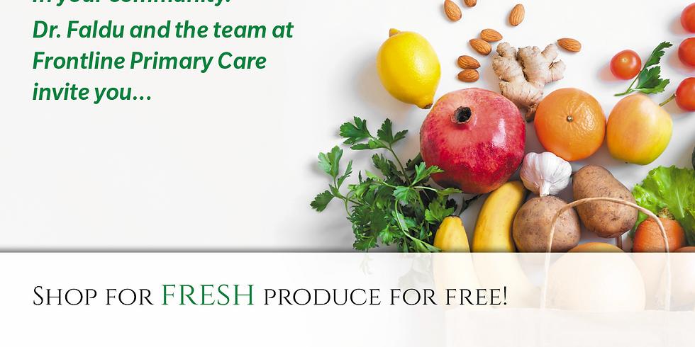 Free Fresh Produce - Dr. Faldu's Office