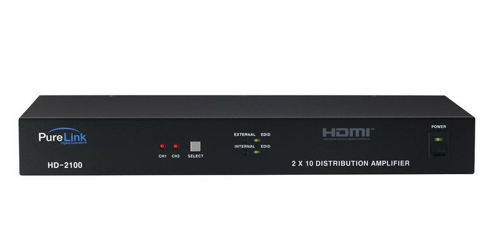 PRO HDTools DVI (single link) signaalijagaja ja võimendi 2x10 - Full HD