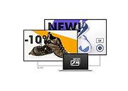 Iiyama reklaam ekraanid kos meedia haldus tarkvaraga - OÜ Novaver