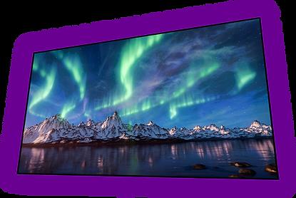 Aurora 4K ja 4K ALR ekraanid OÜ Novaverist
