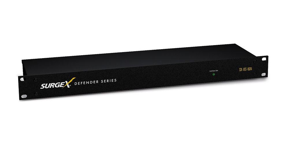 SurgeX Defender | 16A / 240V | 11x IEC C13 | EMI/RFI mürafilter
