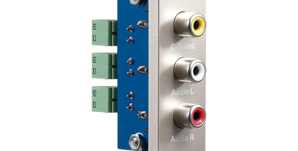 AV meedia pistik | RCA (C-video+audioL+audioR) | PureID'le