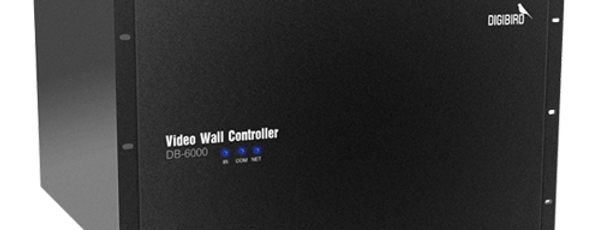 Digibird - DB-6000 4K ultra HD videoseina kontroller, kuni 16 ekraani