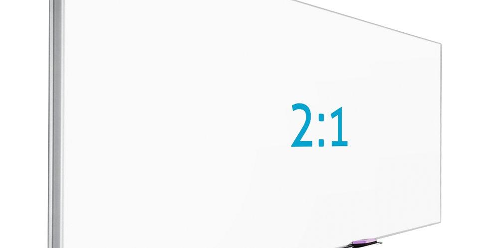 Grandview   Projektori valge ekraan   241,4 x 120,7 cm   2:1