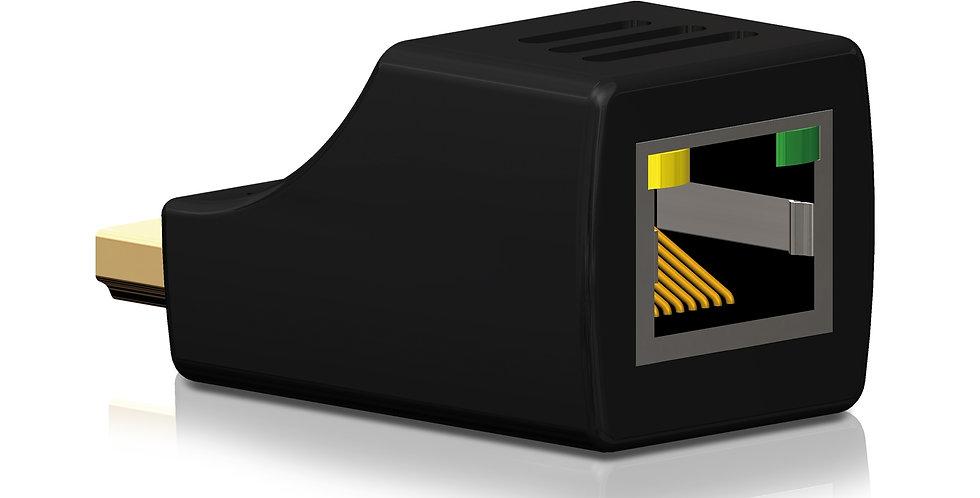 HDMI üle CATx | 2K | 3D | 1080p  ja WUXGA | 15-25m | vastuvõtja