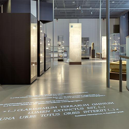 Roemisches muuseum - Gobo projektor