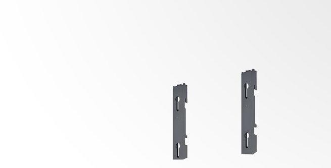 Videoseina kinnitus jalad - VESA 300 ja 400 - 1 ekraan - maastik
