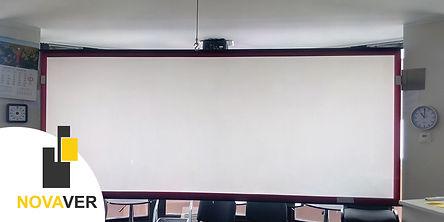 projektoriekraan+tagant+projektsioon - OÜ Novaver